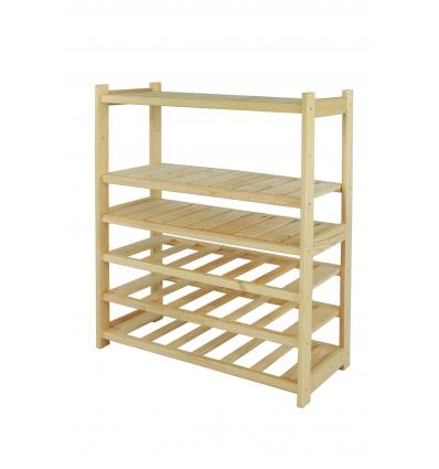 Regał drewniany LS3-3-3