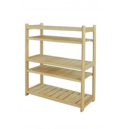 Regał drewniany LS3-5-0
