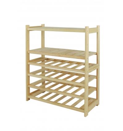 Regał drewniany LS3-2-4