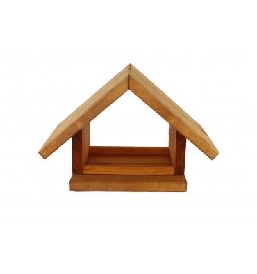 Karmnik dla ptaków drewniany K-10 olcha