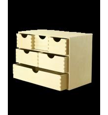 Skrzynka drewniana SSK-3K